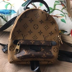 Handbags - Fashion LV mini Palm Springs reverse mono